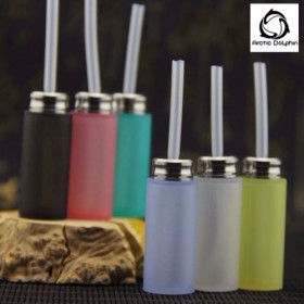 Arctic Dolphin Squonk Bottle 8ml (SS Top Cap) - CLEAR