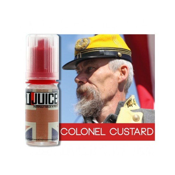 T-JUICE COLONEL CUSTARD - AROMA CONCENTRATO - 30 ml