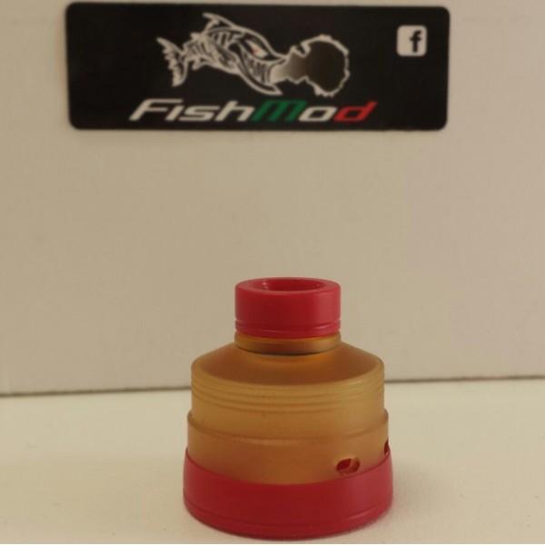 Fishmod - Hadaly Visor Ultem/Red Set