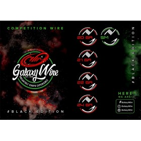 GALAXY WIRE - BLACK EDITION COMPETITION 21 gauge - 0.72 mm5mt