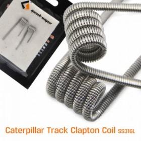 GEEKVAPE - CATERPILLAR TRACK COIL - SS316L 28GA*4+30GA - 0.3HM - 2PZ