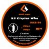 GEEKVAPE - CLAPTON SS316 (26GA + 30GA) 3MT