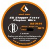 GEEKVAPE - STAGGER FUSED CLAPTON SS316L (26GA+32*2 + 32GA) 3MT