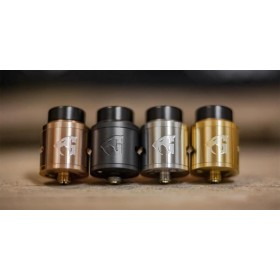 Goon 1.5 RDA by 528 Custom Vapes - Red Gold