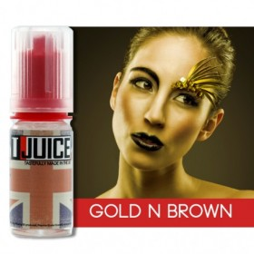 T-JUICE GOLD \'N\' BROWN - AROMA CONCENTRATO - 10 ml