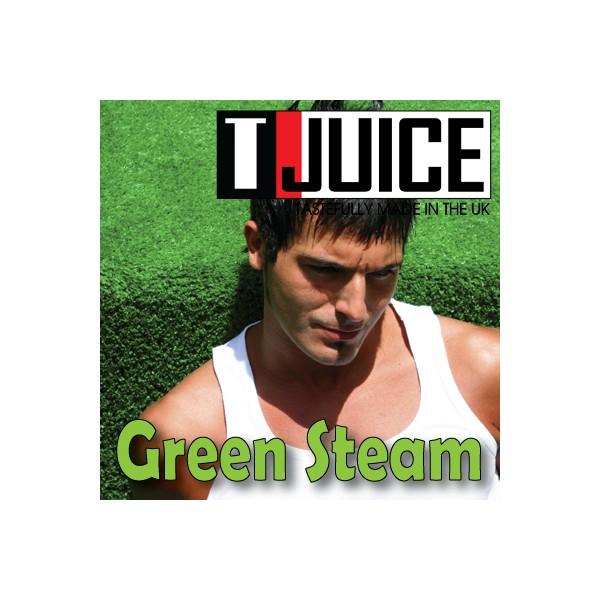 T-JUICE GREEN STEAM - AROMA CONCENTRATO - 10 ml