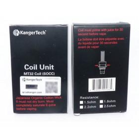 KANGER SOOC - 1,8 ohm - 5 PEZZI
