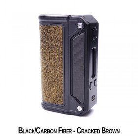 Lost Vape - Therion DNA75 - Black Carbon - Cracked Brown