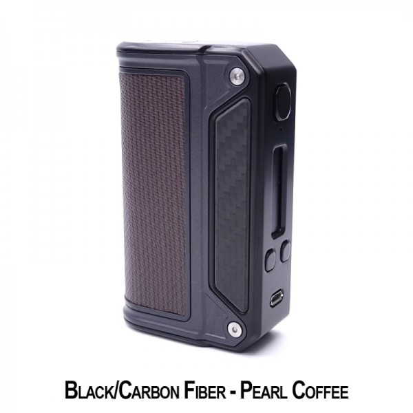 Lost Vape - Therion DNA75 - Black Carbon - Pearl Coffee