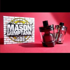 Mason Dumptank 40mm - Black