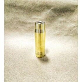 MCS - Big Battery Mod Bullet - 18650 Brass