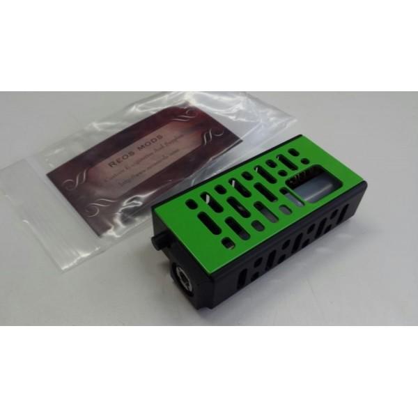 REOS MODS - Reo Grand LP/SL - Black Wrinkle/Kawasaki Green