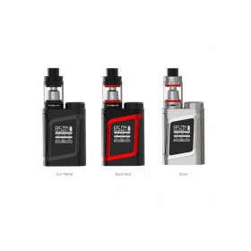 SMOK - ALIEN BABY AL85 + TFV8 BABY - BLACK / RED