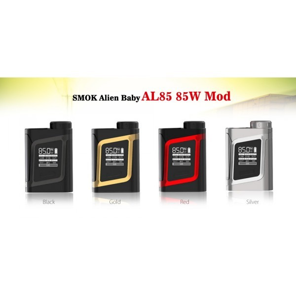 SMOK - ALIEN BABY AL85 - BLACK/RED