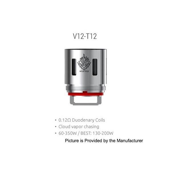 Smok - TFV12 Coil V12-T12 0,12ohm - Blister 3pz