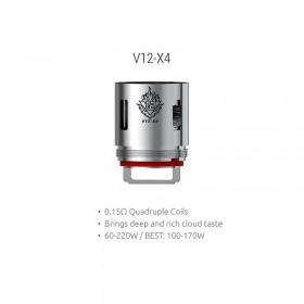 Smok - TFV12 Coil V12-X4 0,15ohm - Blister 3pz
