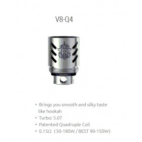 Smok - TFV8 Coil V8-Q4 0,15ohm - Blister 3pz