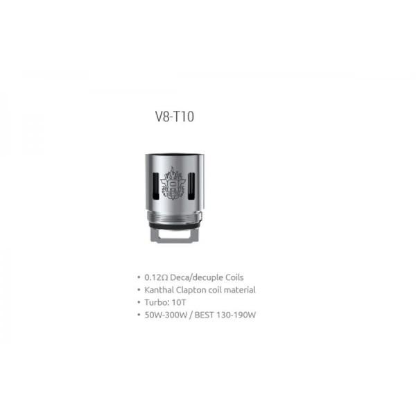 Smok - TFV8 Coil V8-T10 0,12ohm - Blister 3pz