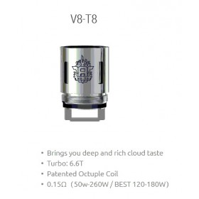 Smok - TFV8 Coil V8-T8 0,15ohm - Blister 3pz