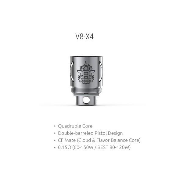 Smok - TFV8 Coil V8-X4 0,15ohm - Blister 3pz