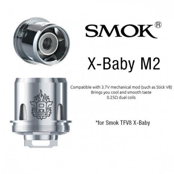 Smok - TFV8 X- Baby Coil M2 0,25 ohm