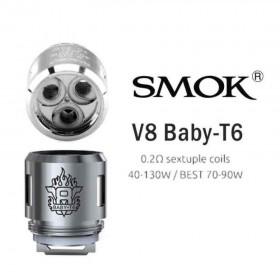 Smok - TFV8 X- Baby Coil T6 0,2 ohm