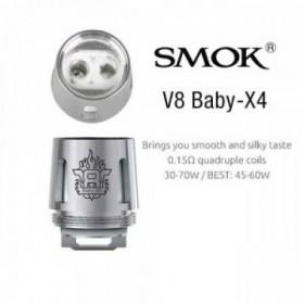 Smok - TFV8 X- Baby Coil X4 0,13 ohm