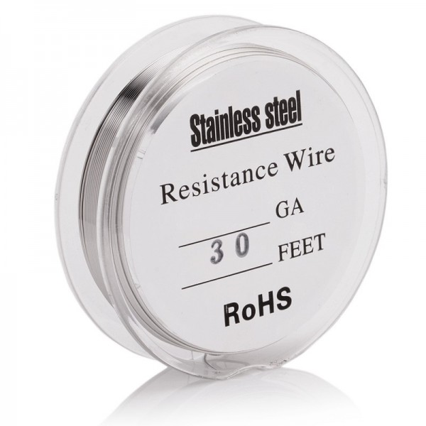 STAINLESS STEEL 24ga WIRE - 10MT