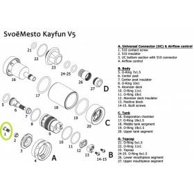 Svoemesto - Kayfun 5 Vite pin 510