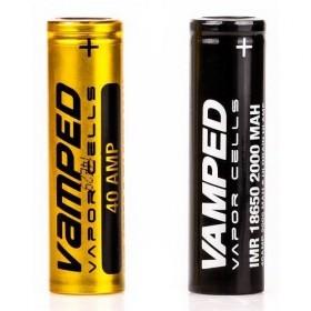 VAMPED 40A - Batteria IMR 18650 3,7v 2000mah - NERA