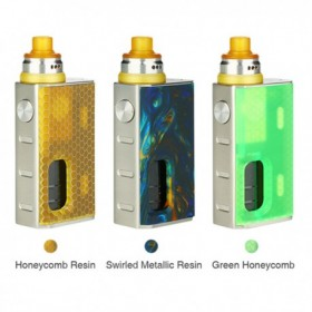 Wismec - Luxotic Bf Box 100W + Tobhino RDA KIT - Swirled Metallic Resin