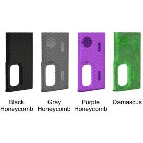 Wismec - Sportello Luxotic BF - Black Honeycomb
