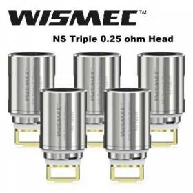 WISMEC ELABO - Coil NS Triple 0,25 ohm
