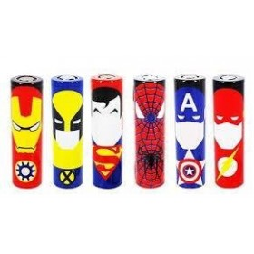Wrap per Batterie 18650 - Spiderman