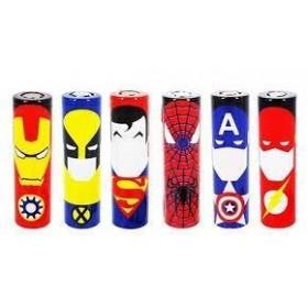 Wrap per Batterie 18650 - Spiderman