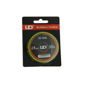 Youde - SS316 - 30Ft (10mt) 28GA (0,32mm)