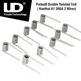 Youde Tech - Double Twisted Coil Kanthal A1 28GA 2 Wires, ID2.8 x 0.5ohm
