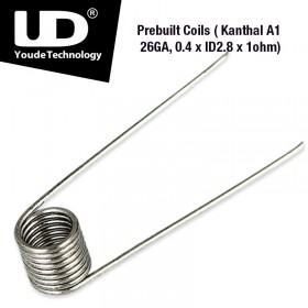 Youde Tech - Kanthal A1 26GA, 0.4 x ID2.8 x 1ohm