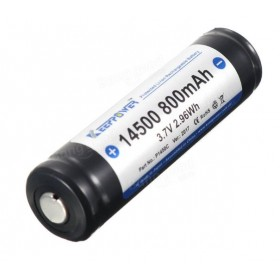 Keeppower - Batteria 14500 - 800mAh