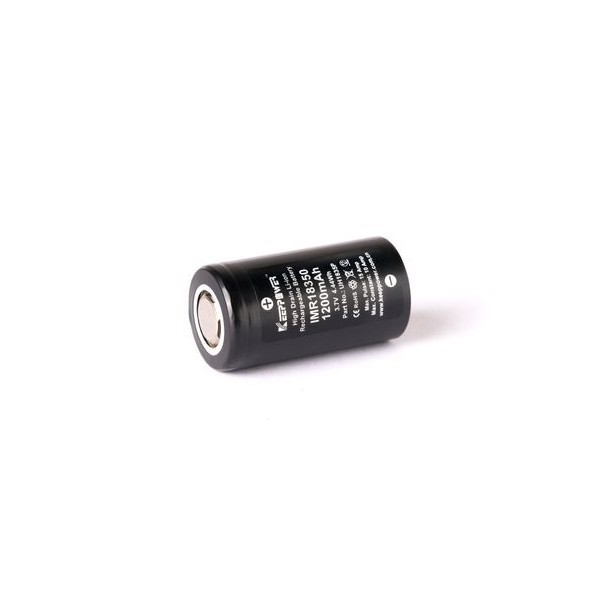 Keeppower - Batteria 18350 - 1200mAh