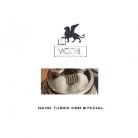 Venice Custom Coil Nano Fused N80 Special