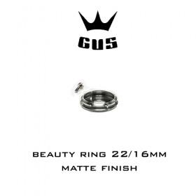 GUS Beauty ring 22/16mm Matte