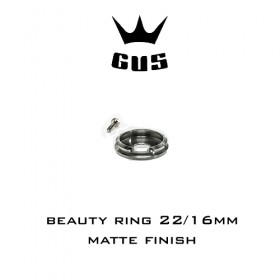 GUS Beauty ring 22/16mm Matte