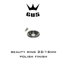 GUS Beauty ring 22/16mm Polish