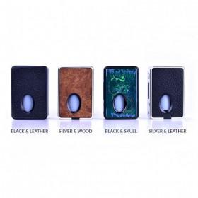 HCigar VTinbox BF Boxmod Dna 75 - Black & Leather Panel