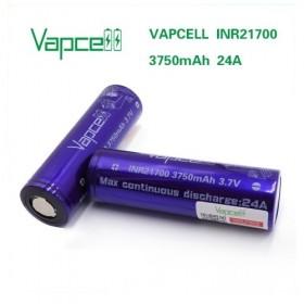 Vapcell Batteria 21700 3750mAh 24A