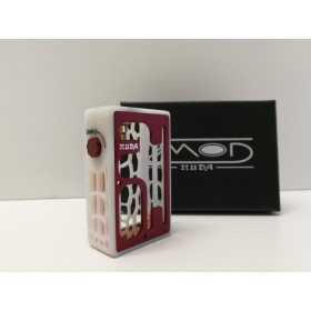 Turtle Mod Nuda White Delrin & Red Alu Door