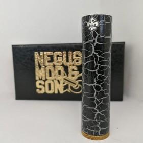 Negus Mod & Son Vaper\'s Divinity Mudra Ottone Verniciato Nero
