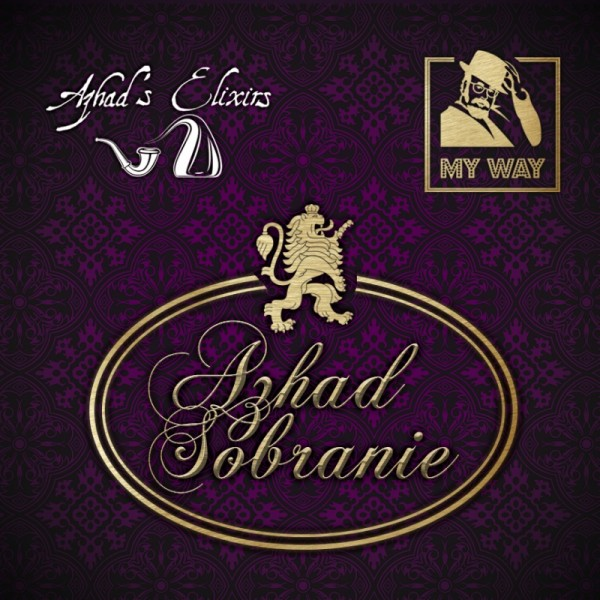 Azhad\'s Elixirs My Way Azhad Sobranie - Aroma 10ml
