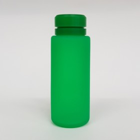 Zeroten Skull Bottle Green